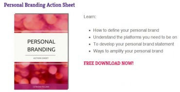 Personal Branding Action Sheet Lead Magnet