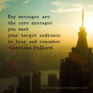 7 tips to create unique key messages for your business