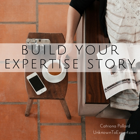 Build your expertise story