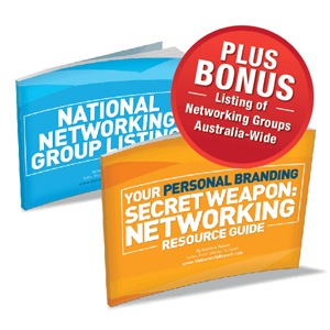 Your Personal Branding Secret Weapon: Our FREE Networking Resource Guide