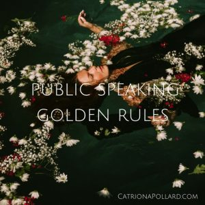 5 golden rules for successful public speaking