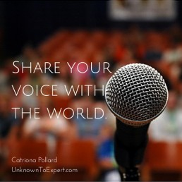 share your voice on the radio